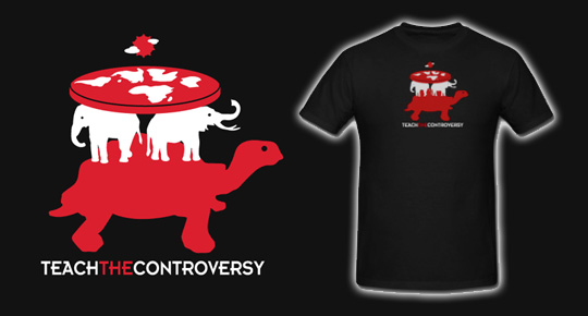 Teach The Controversy T Shirts The Sensuous Curmudgeon